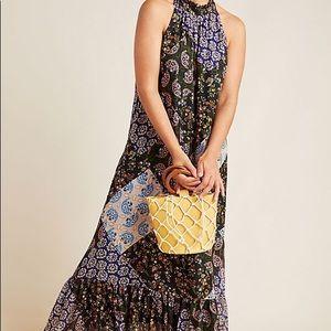 NWT Maeve Katrina Maxi Dress Anthropologie Large L